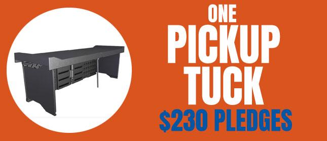 Pickup Tuck Pledge Reward