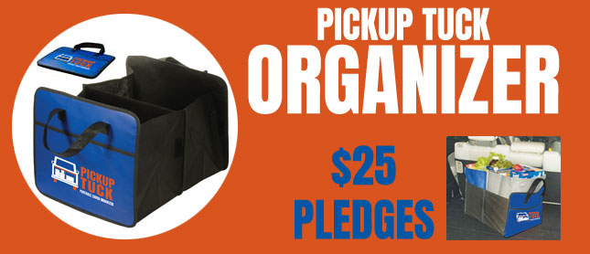 Pickup Tuck Organizer